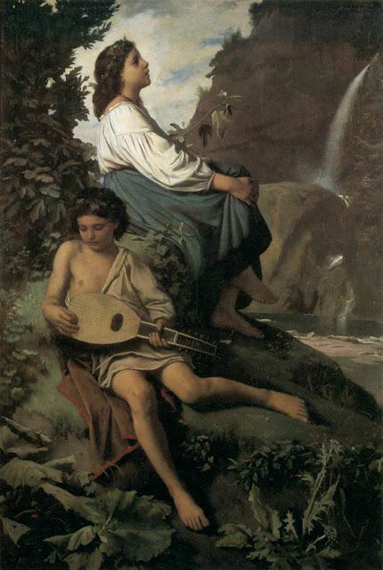 Anselm Feuerbach - Ricordo da Tivoli