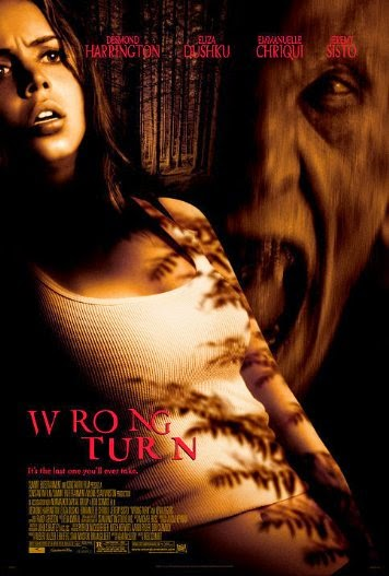 Poster Of Wrong Turn (2003) Full Movie Hindi Dubbed Free Download Watch Online At alldownloads4u.com