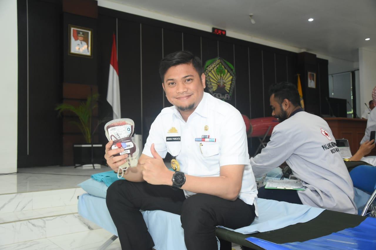 Pemkab Gowa Gandeng PMI Gelar Donor Darah, ini kata Adnan P Ichsan