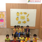 Yellow Day Celebration by Playgroup Afternoon Section at Witty World, Chikoowadi (2018-19)