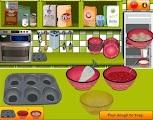 لعبة طبخ كيك الفراولة