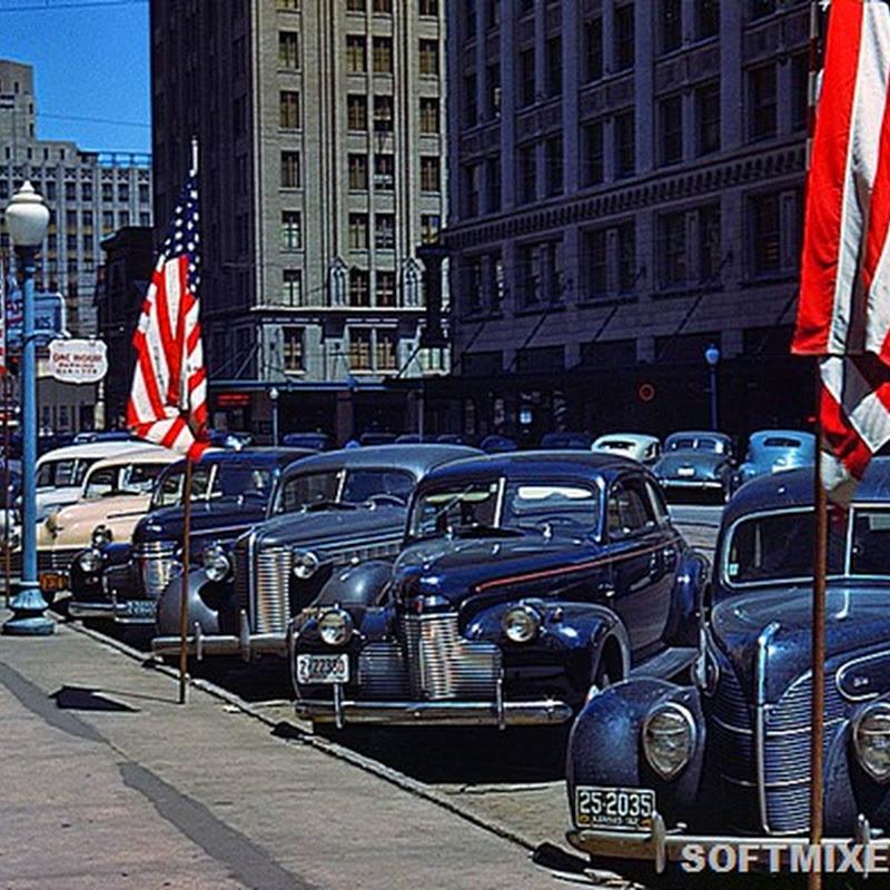 Америка 40-х в цвете