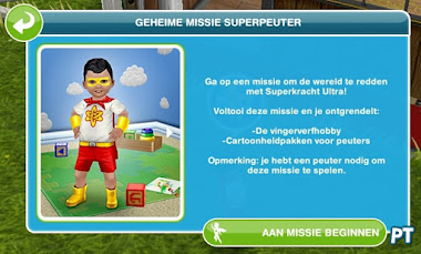 Sims FreePlay Geheime missie superpeuter
