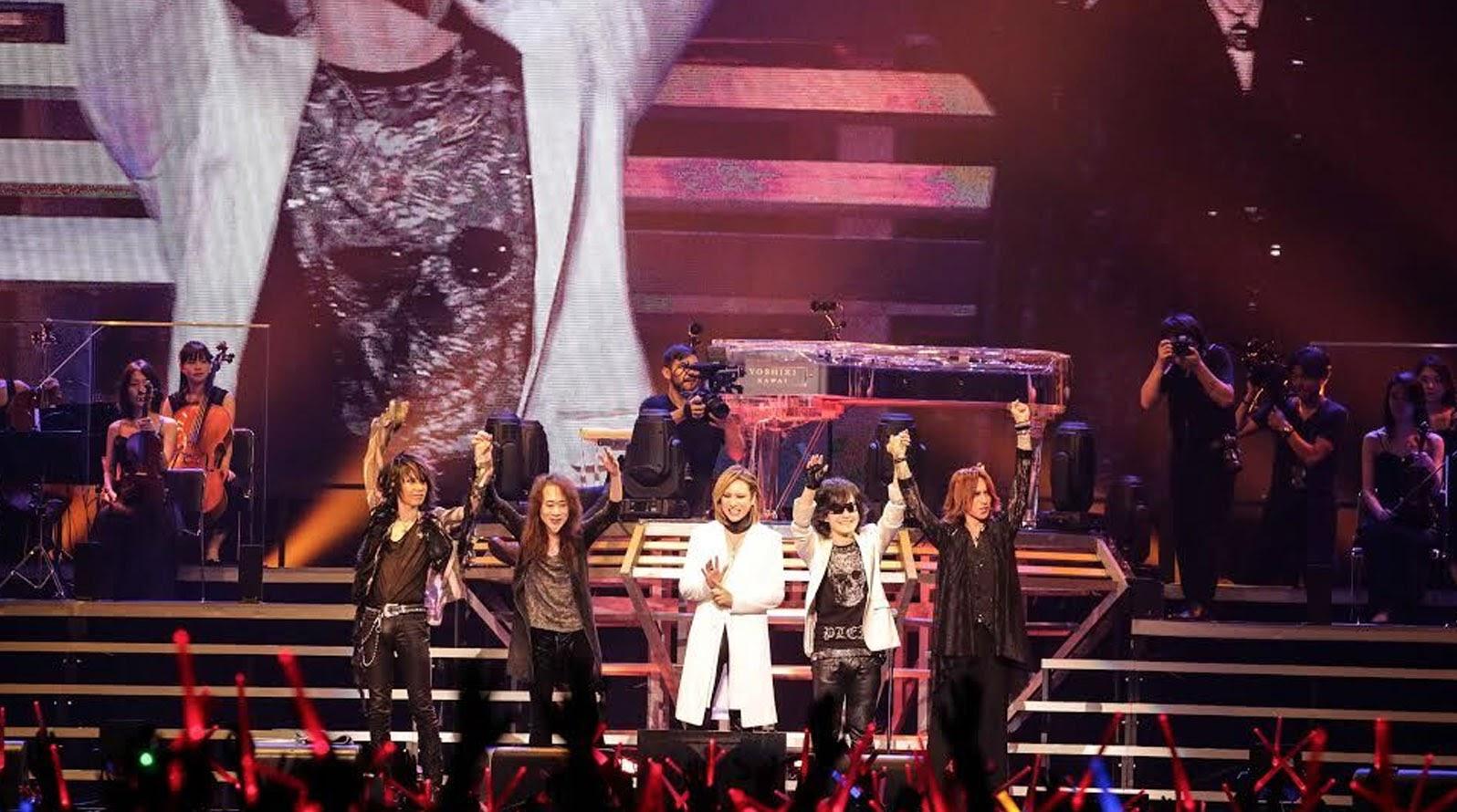 X JAPAN巡迴開跑  YOSHIKI感謝樂迷讓他有力量進行後續五天的演出