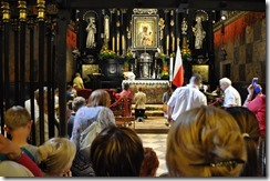 2 Częstochowa chapelle de l'icone miraculeuse