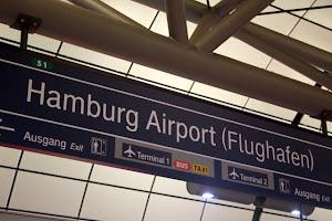 Train Station at Hamburg Airport