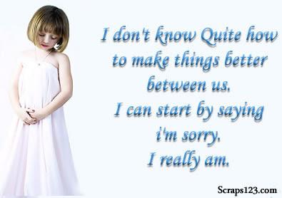 I am really Sorry  Image - 4