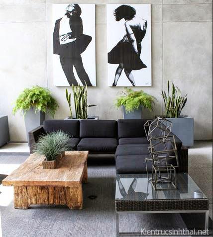 Thiết kế phòng khách hiện đại