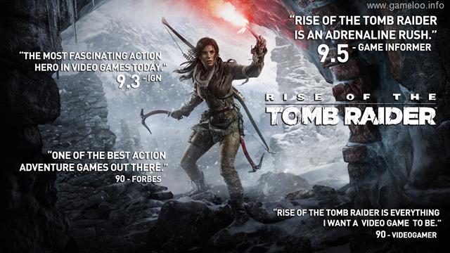 Rise of the Tomb Raider™ + Dlc Pack + Lang Pack - [Repack 13GB!]