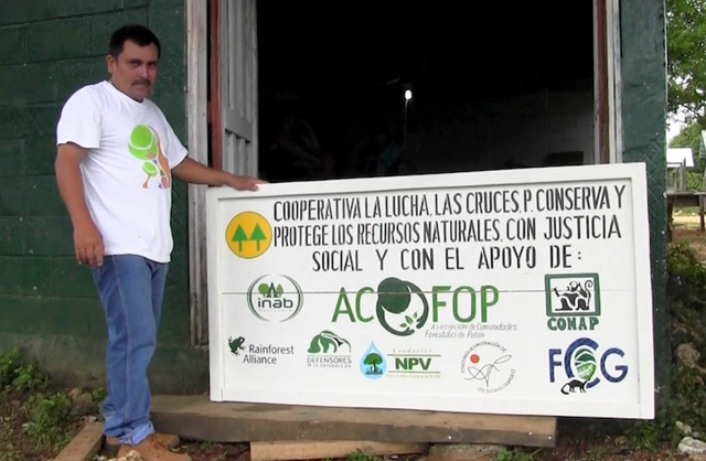 Environmental and community activist Walter Manfredo Méndez Barrios was killed on 16 March2016 in northern Guatemala. Photo: ACOFOP