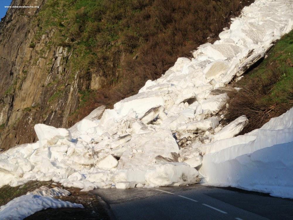 Avalanche Lauzière, secteur Col de la Madeleine, RD 94 - Couloir des Ardoisières - Photo 1