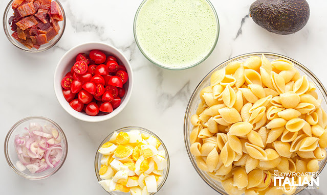 easy pasta salad ingredients