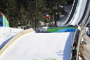 Thomas Morgenstern jumping