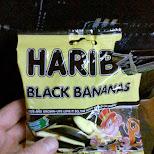 Haribo Black Bananas in Reykjavik, , Iceland