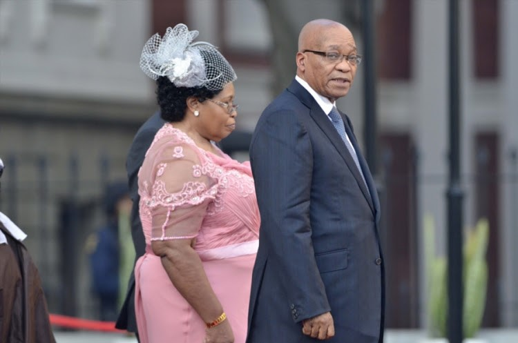 Zuma's first wife, MaKhumalo, wasn't told the 'painful' news of new wife