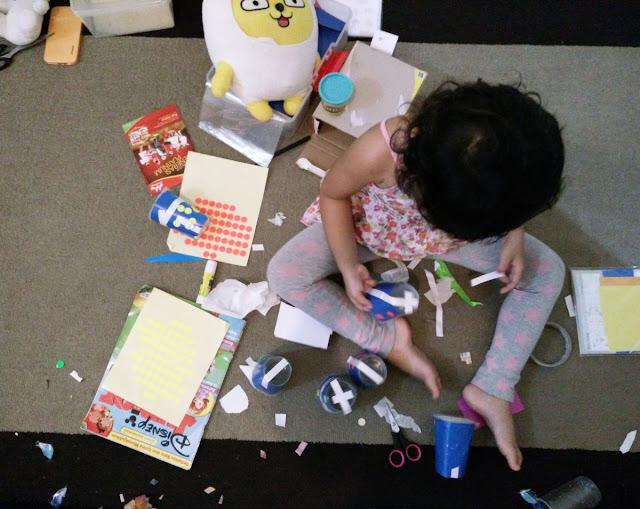 Messy Play Ala Diana