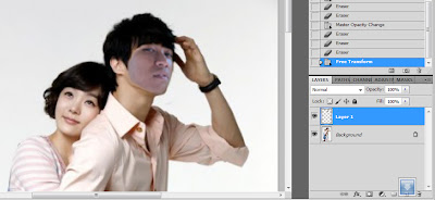 Cara Mengganti Muka dengan Photoshop