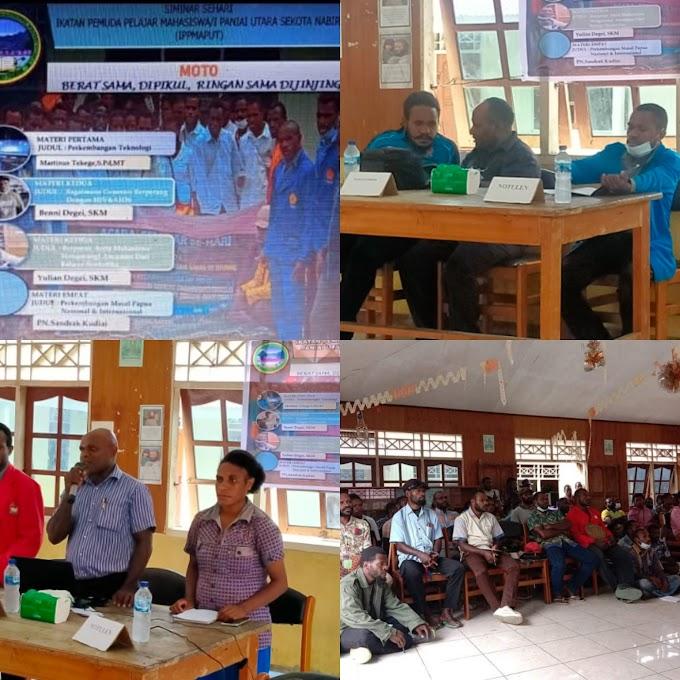 IPPMAPUT Kota Studi Nabire Telah Usai Gelar Seminar Sehari, Berikut 4 Materinya