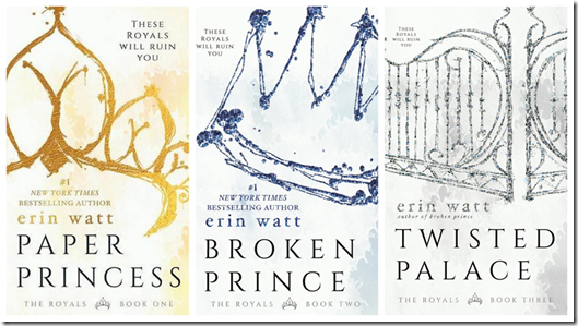 The Royals Series by Erin Watt