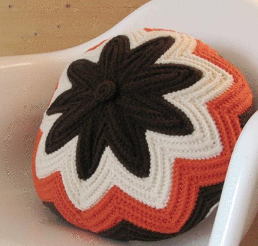 Blog de goanna cojines redondos de crochet - Cojines redondos ...
