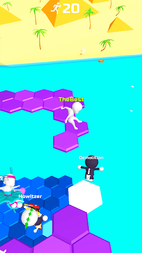 Do Not Fall .io apktram screenshots 8