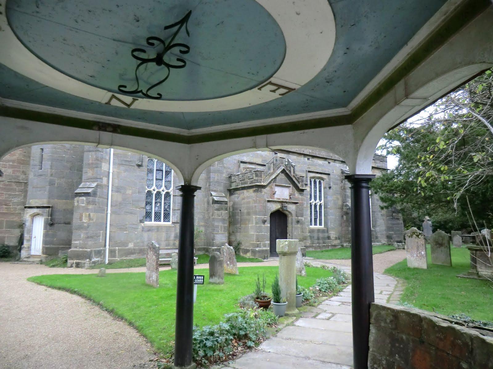 CIMG9021 Into St Alban's churchyard, Frant