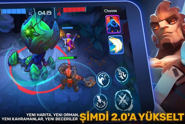 Planet of Heroes Güncelleme Detayları 2.0 Güncellemesi