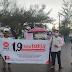 Meskipun Hujan, PKS muda Bengkulu Utara Bagikan Takjil di bundaran Argamakmur