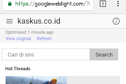 Mengenal Googleweblight