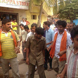 Campaigning in Alanahalli Layout