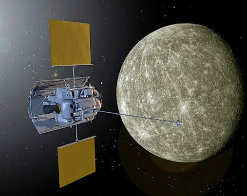 the probe that landed on mercury - photo #3