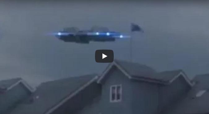 ESCÓCIA UFO OVNI SOBREVOA CASA