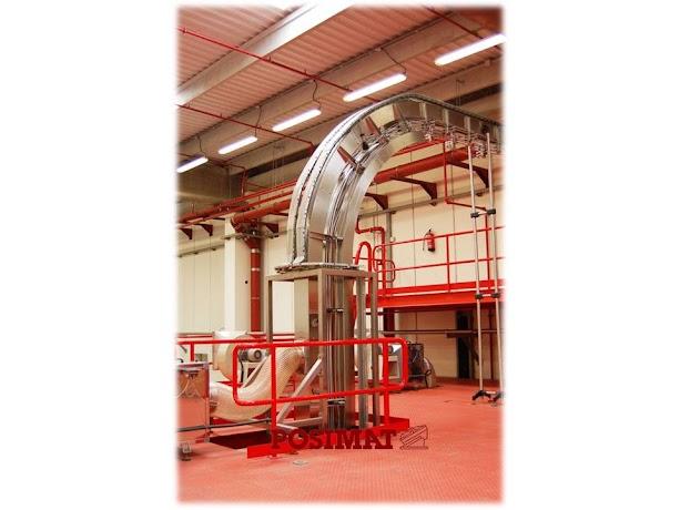 Vertijet 90 degree Air Conveyor without Accumulation
