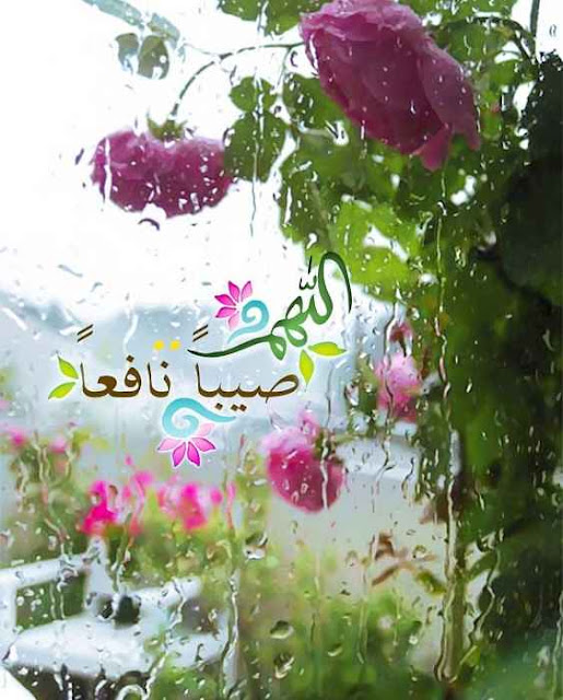 ادعية نزول المطر المستحبة وسماع الرعد   الدعاء وقت نزول المطر