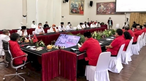 PKS Merapat ke Kantor DPP PDIP, Bahas Koalisi, Reshuffle atau Apa?