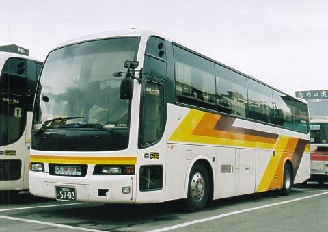 西日本鉄道「ムーンライト号」 3134