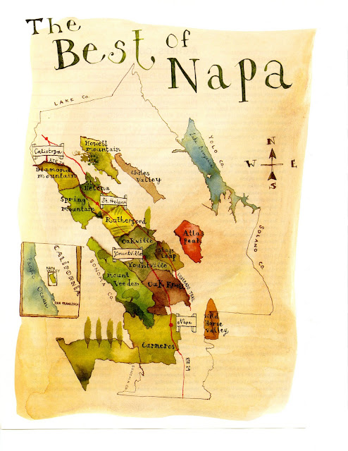 Ali 39 s eye candy what a great map of napa from food and for A new napa cuisine