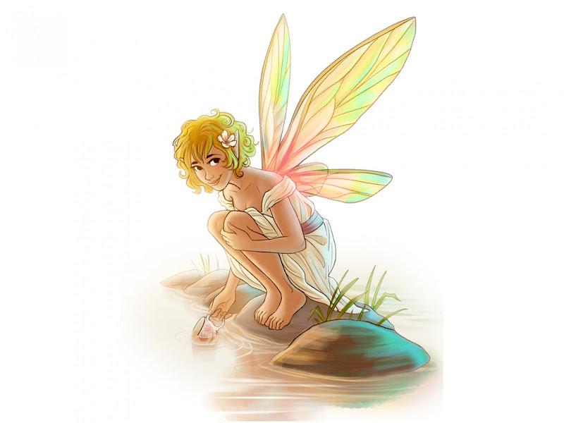 Little Fairi On River, Fairies Girls 2