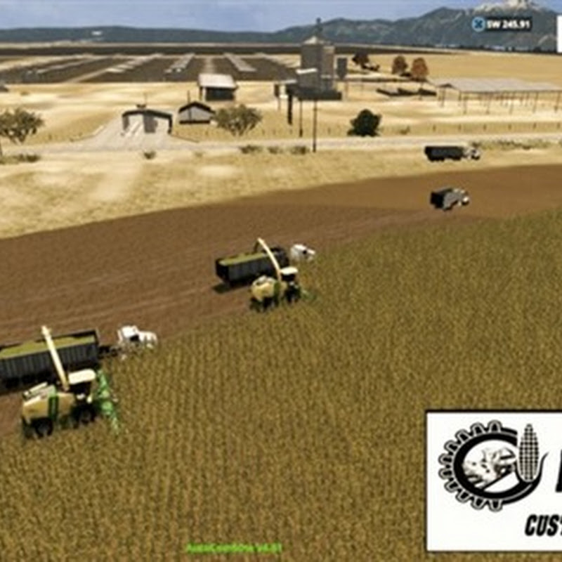 Farming simulator 2015 - California Central Valley v 3.0
