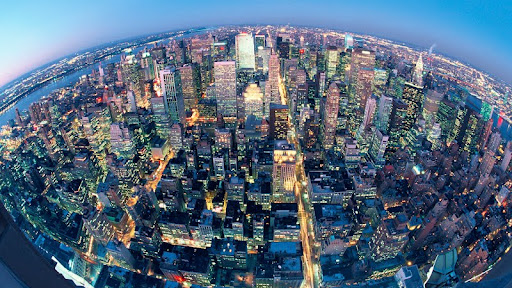 Fisheye View of New York City at Night.jpg