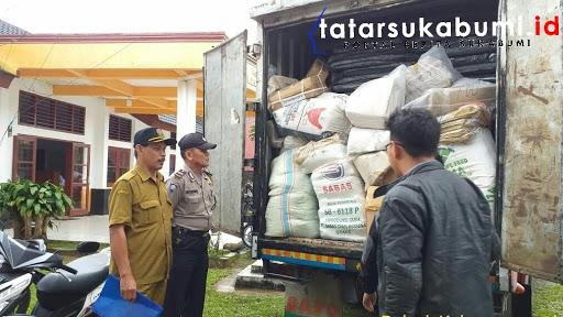 Kecamatan Kabandungan dan Kalapanunggal terima Logistik Pemilu 2019 // Foto : Asep M-Rhe