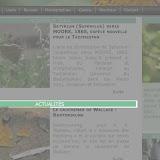 9. Choix d'une rubrique (ou catégorie) pour voir les articles qu'elle contient ; exemple : la rubrique « Actualités » ; on clique sur le bandeau vert affichant le nom de la rubrique.