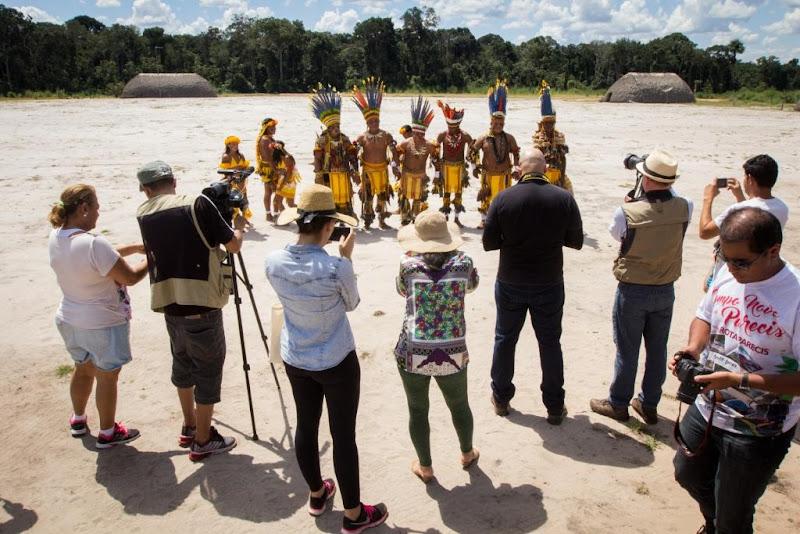 Visita jornalistas Campo Novo do Parecis