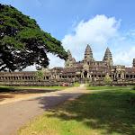 Angkor Vat (Kambodža)