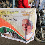 Namo Brigade Pune Bike Rally 12 Jan 2014