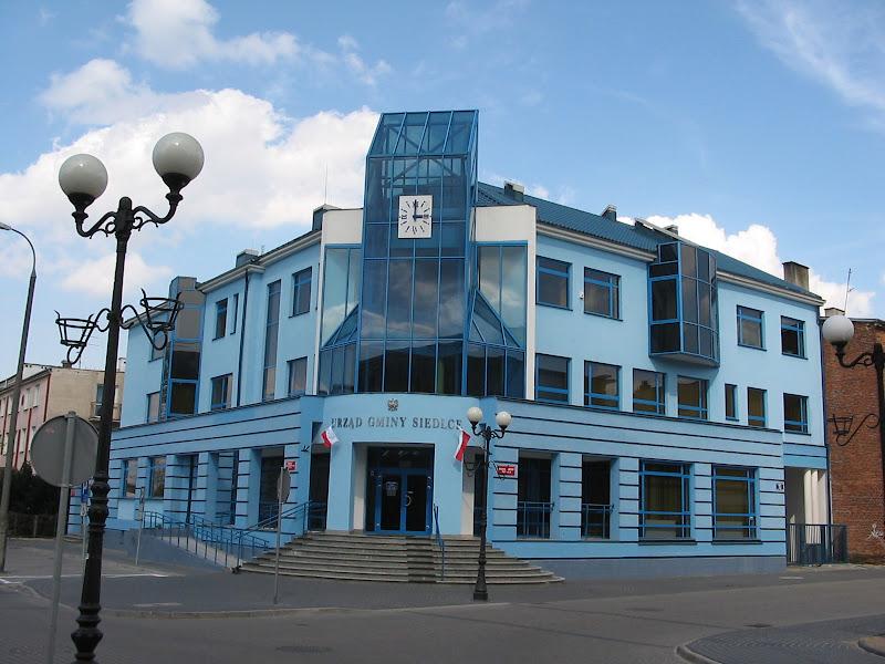 Skromny budynek ZUSu