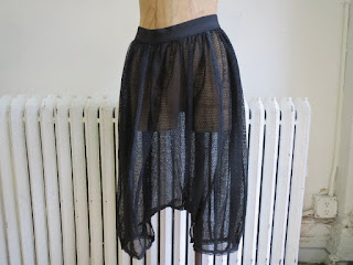 Marc Jacobs Mesh Drop Crotch Shorts