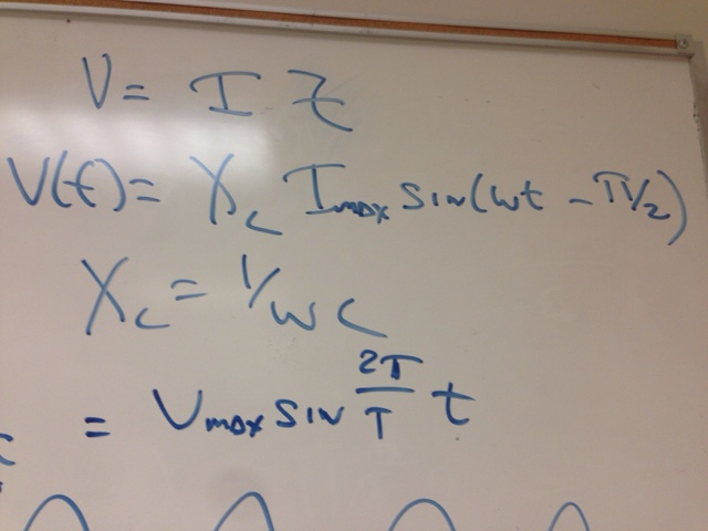 Physics 4B Bli: lab24 5-28 AC circuit