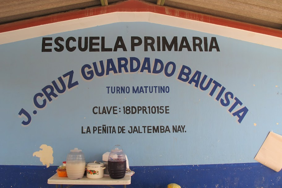 Jaltemba Rotary All Schools volunteer day Guayabitos