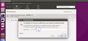 Instalar Flash en Linux Mint y Ubuntu. Software Center. Instalación.